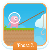 Play 'Fishy Phonics (Phonics Phase 2)'