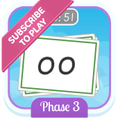 Play 'Flash Cards (Time Trial) (Phonics Phase 3)'