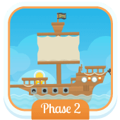 Play 'Flash Cards (Phase 2)' - Phonics Game