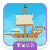 Play 'Flash Cards (Phase 3)' - Phonics Game