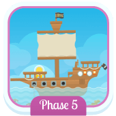 Play 'Flash Cards (Phase 5)' - Phonics Game