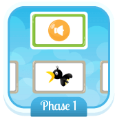 Play 'Match Sounds (Phase 1)' - Phonics Game