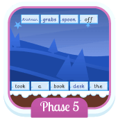 Play 'Sentence Substitution (Phonics Phase 5)'