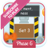 Play 'Suffix Factory (Set 3) (Phonics Phase 6)'