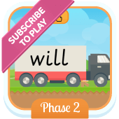 Play 'Tricky Trucks (Phonics Phase 2)'