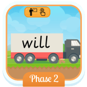 Play 'Tricky Trucks (Phase 2)' - Phonics Game