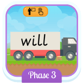 Play 'Tricky Trucks (Phonics Phase 3)'
