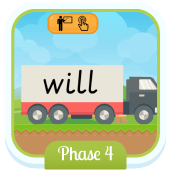 Play 'Tricky Trucks (Phase 4)' - Phonics Game