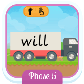 Play 'Tricky Trucks (Phase 5)' - Phonics Game