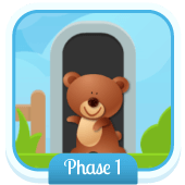 Play 'What's Behind The Door? (Phonics Phase 1)'