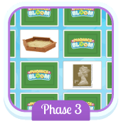 Play 'Word Pairs (Phase 3)' - Phonics Game